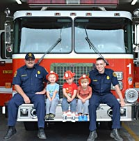 Visit the Fire Station